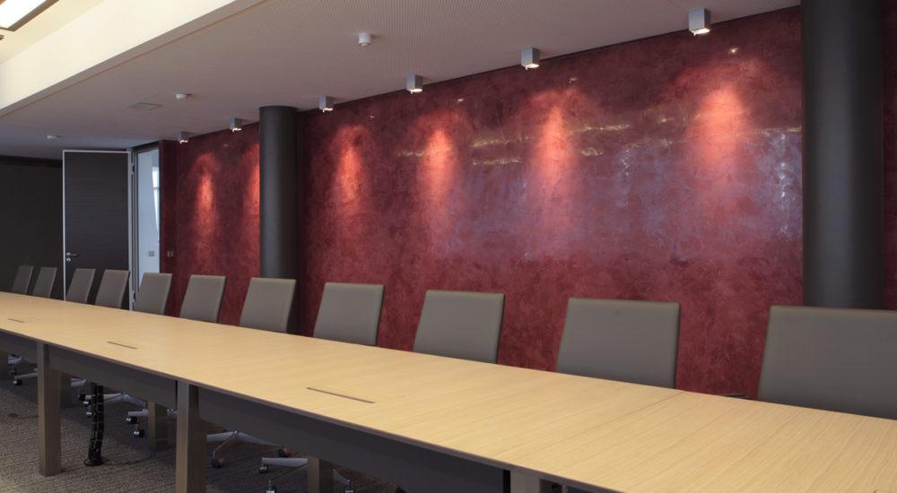 Segmentierter Konferenztisch