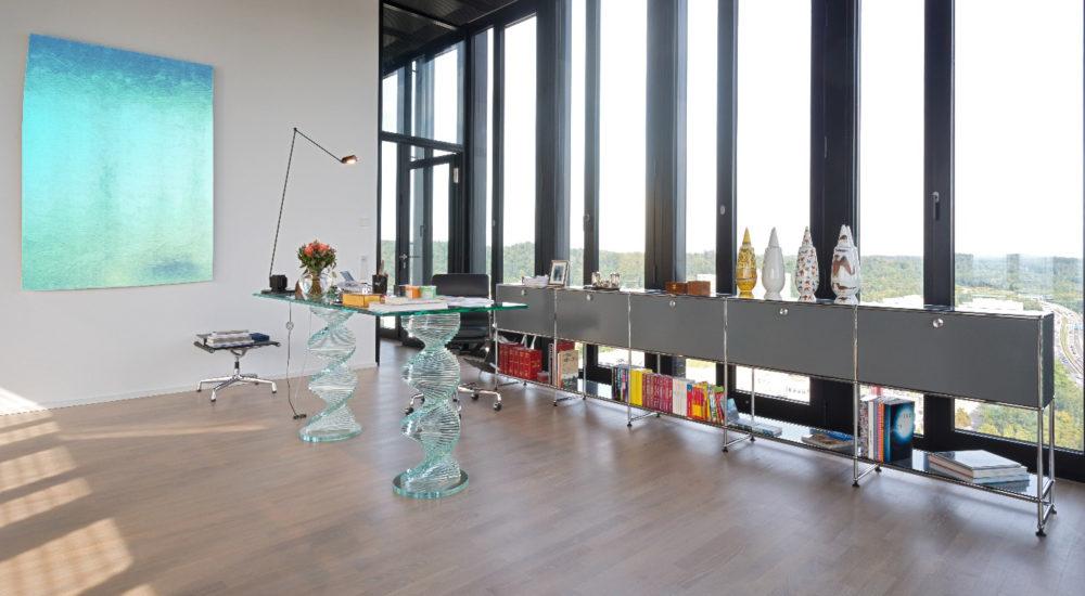 Inspiration durch moderne Möbel und Platz